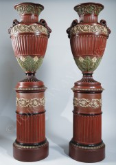 Neoclassical Pair of Vases