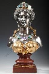 E. Cornu & G. Viot et CieNeo-Greek Bust