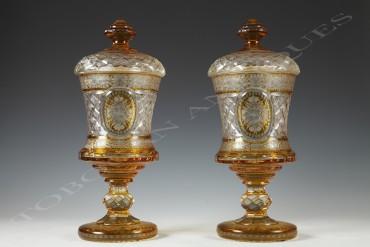 Bohemian-crystal-vases