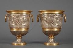 L. OudryPair of neoclassical planters