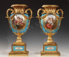 Pair of Vases  « Sevres »