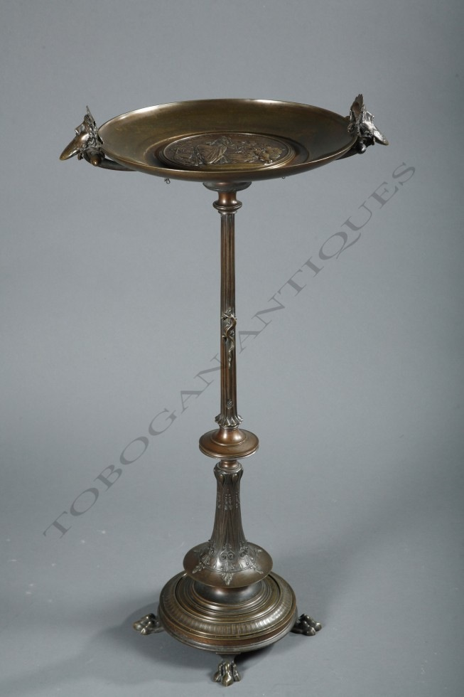 E. Picault<br />Neo-Greek tazza on stand
