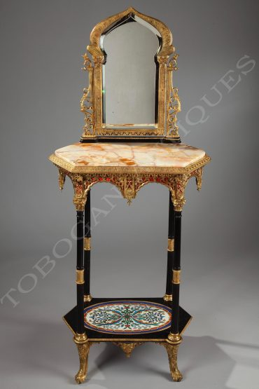 orientalist dressing table cornu