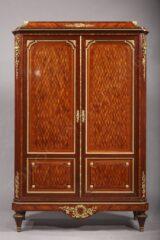 Armoire de style Louis XVI – signé Millet – Tobogan Antiques – Antiquaire Paris 8ème-5