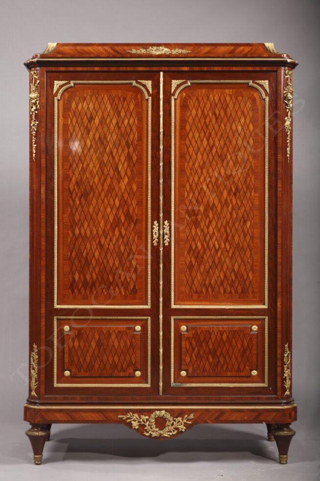 T. Millet <br /> Elegant armoire