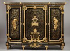 Meuble d'appui Boulle – attribué à Béfort Jeune – Tobogan Antiques – Antiquaire Paris 8ème-10