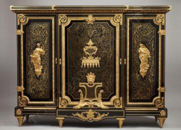 "Befort Jeune<br />Important  meuble ""Boulle"""