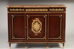 Meuble d'appui de style Louis XVI – Attribué à Krieger – Tobogan Antiques – Antiquaire Paris 8ème-6