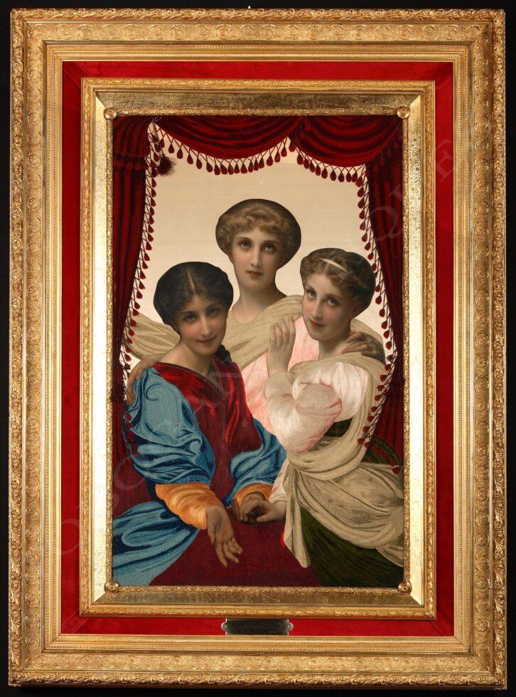 "C. Josuan<br />""The three sisters"""