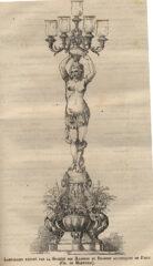 Lampadaire Marnyhac EU 1878