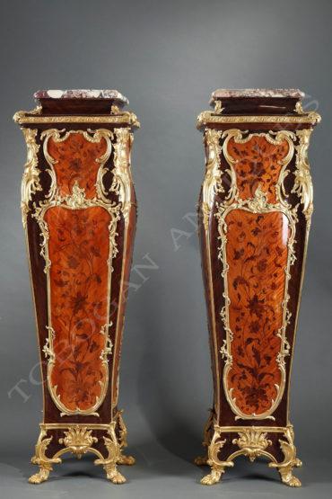 Paire de gaines de présentation - Attribué à Millet - Tobogan Antiques - Antiquaire Paris
