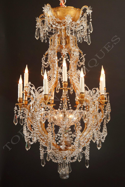 Maison Baguès <br/> Important chandelier