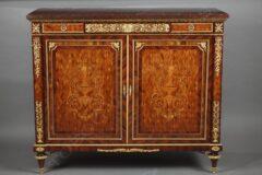 Meuble-d'appui de style Louis XVI – Estampillé Grohé – Tobogan Antiques – Antiquaire Paris 8ème_04