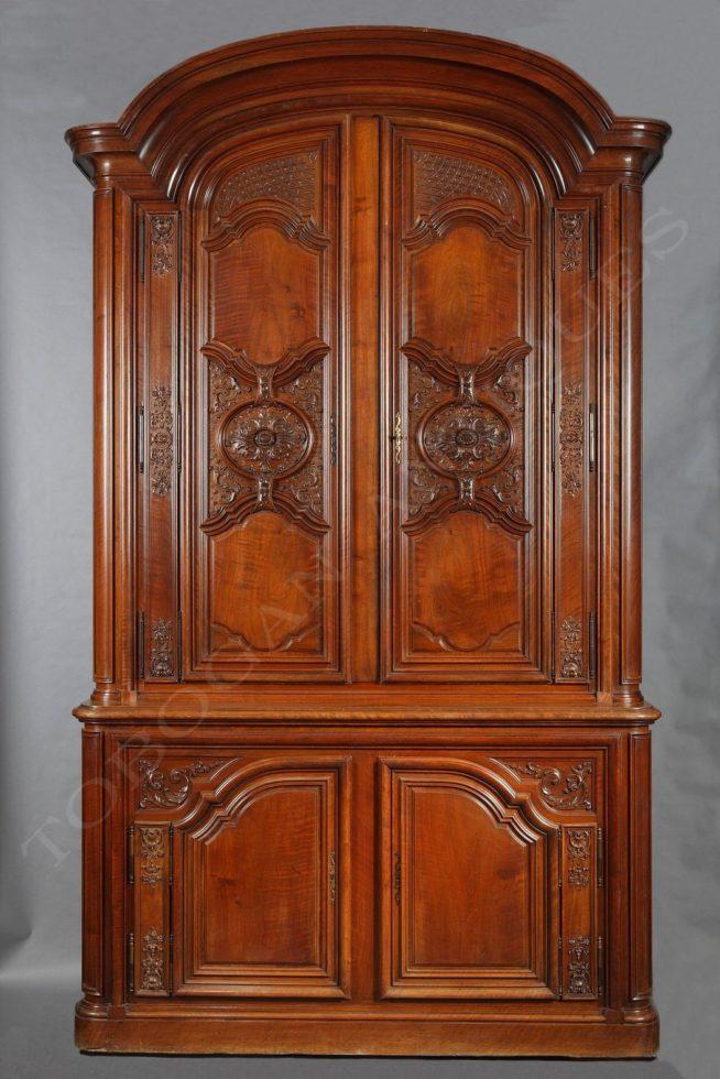 Potheau <br/> Regence style Display-Cabinet