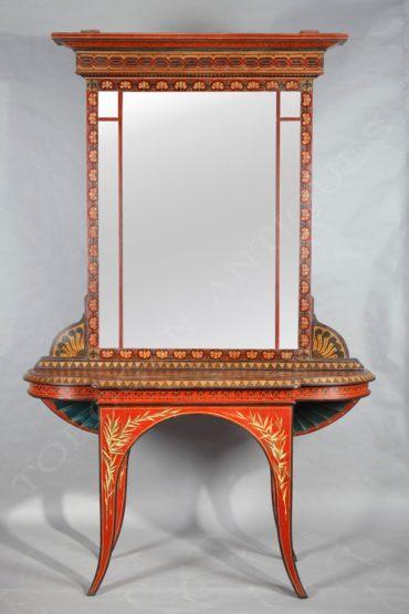 Console néo-Pompéienne – Tobogan Antiques – Antiquaire Paris 8ème