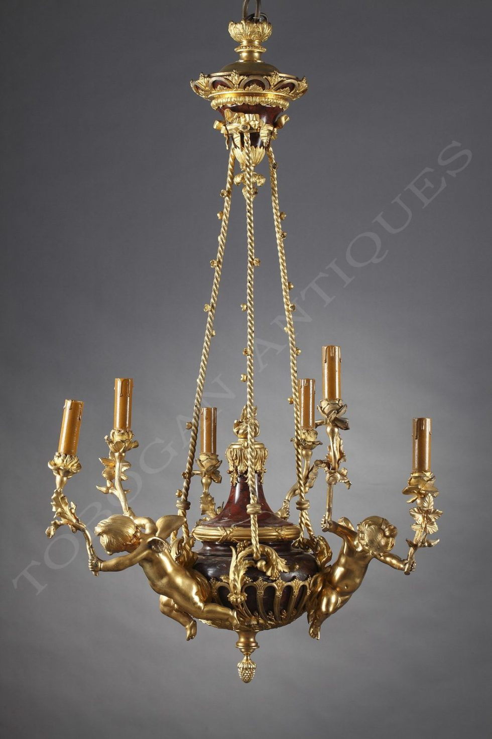 "Chandelier ""with Cupids"""