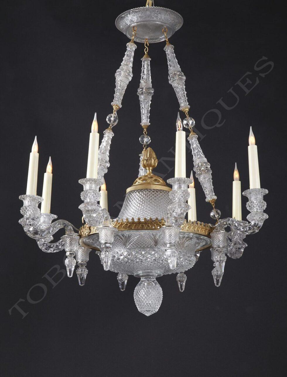 Baccarat <br/> Rare crystal chandelier
