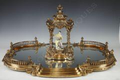 Surtout de table – Signé Boin-Taburet – Tobogan Antiques – Antiquaire Paris 8ème-14