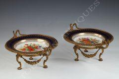 Elegant Pair of Plates