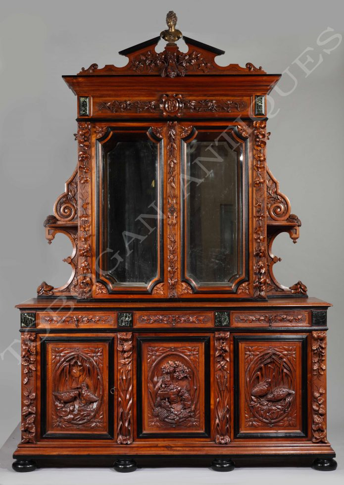 A. Giroux and F. Barbedienne <br/> An Exceptional Sideboard
