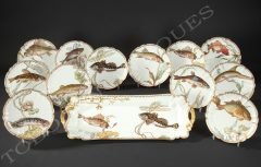 F.Bracquemond – Haviland & Co – Porcelain Set