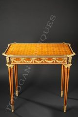 G. Grohé  A Pair of Marqueterie Tables
