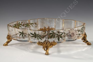 baccarat crystal planter