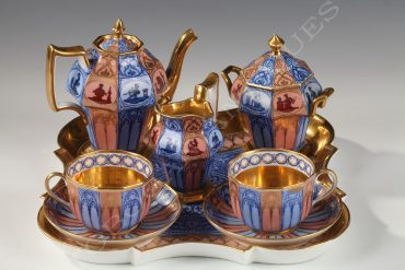 paris porcelain tea set