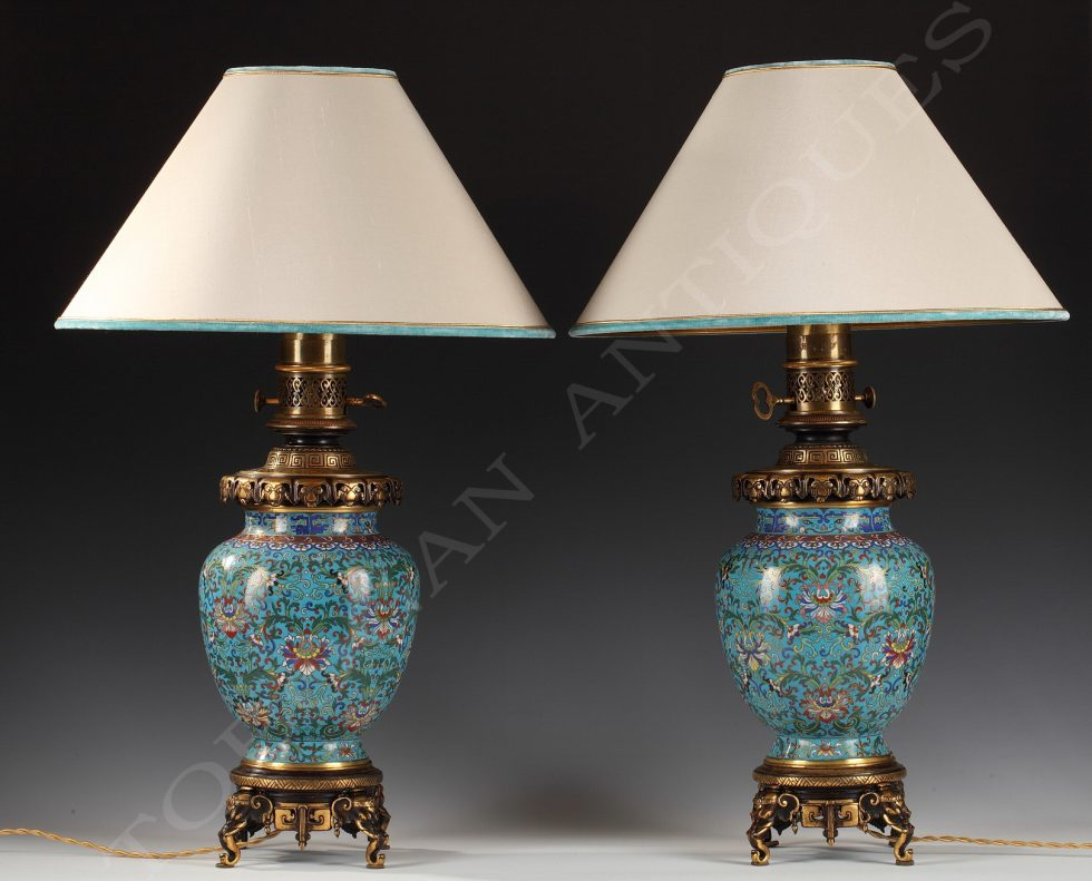 Gagneau <br/> Pair of Lamps