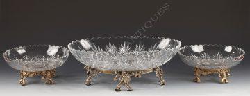 Baccarat <br/> Centre de table en cristal