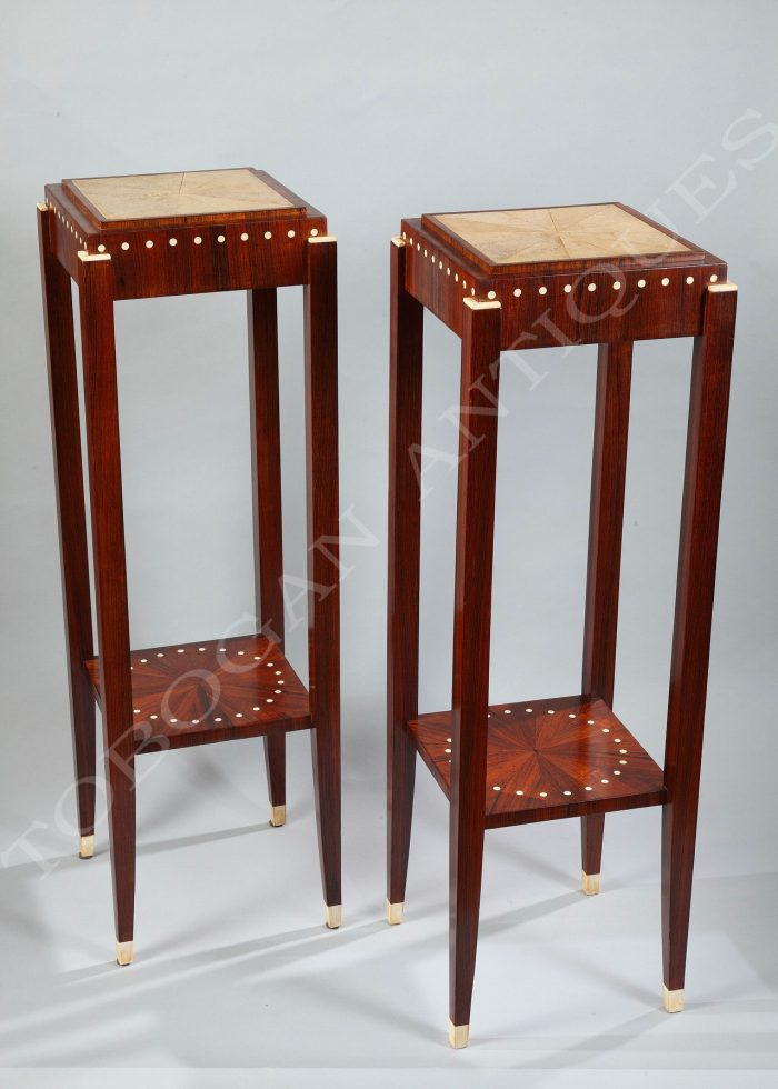 "A Fine Pair of ""Art Deco"" Stands"