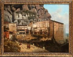T.-F. de Bergue  « View of Montserrat »