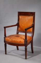 Rare Directoire Period Armchair
