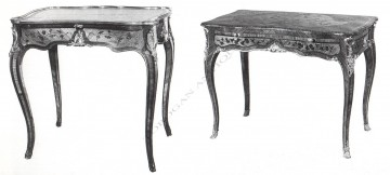 Table de style Louis XV Durand Tobogan Antiques Paris antiquités XIXe siècle