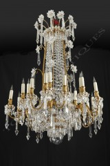 Baccarat  Magnificent Crystal chandelier