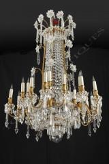 Baccarat  Magnifique lustre en cristal