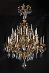 Baccarat  Exceptional Chandelier