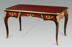Bureau de style Régence Linke Tobogan Antiques Paris antiquités XIXe siècle