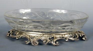 Jardinière cristal bronze Cardeilhac objets Tobogan Antiques Paris antiquités XIXe siècle