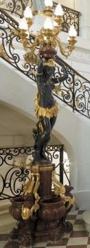 """""""La Vénus Africaine"""" Cordier bronze sculpture Tobogan Antiques Paris antiquités XIXe siècle"""