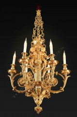 "H. Dasson  ""Children Musicians"" Chandelier"