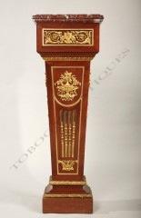 Gaine d'applique de style Louis XVI Tobogan Antiques Paris antiquités XIXe siècle