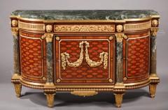 A.-E. Beurdeley  Paire de meubles d'appui