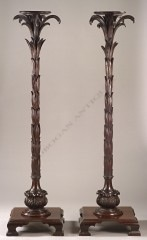"Pair of ""palmtree"" stands"