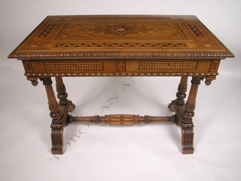 Cortina d'Ampezzo<br />Renaissance style center table