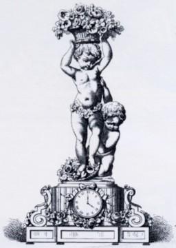 """""""Bacchanale aux enfants"""" Cumberworth Susse bronze sculpture Tobogan Antiques Paris antiquités XIXe siècle"""