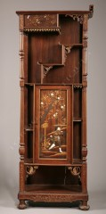 A. Perret  &  E. Vibert Aesthetic Movement cabinet