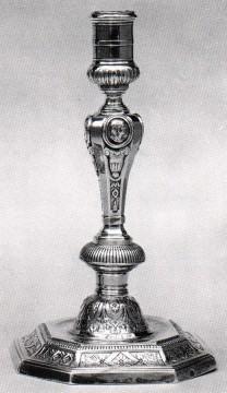 Paire de candélabres de style Louis XIV bronze Tobogan Antiques Paris antiquités XIXe siècle