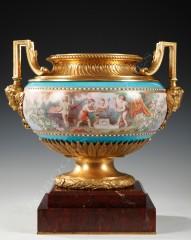 """Sèvres Coupe """"aux amours agrestes"""""""