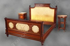 H.-A. Fourdinois  Exceptional bedroom set
